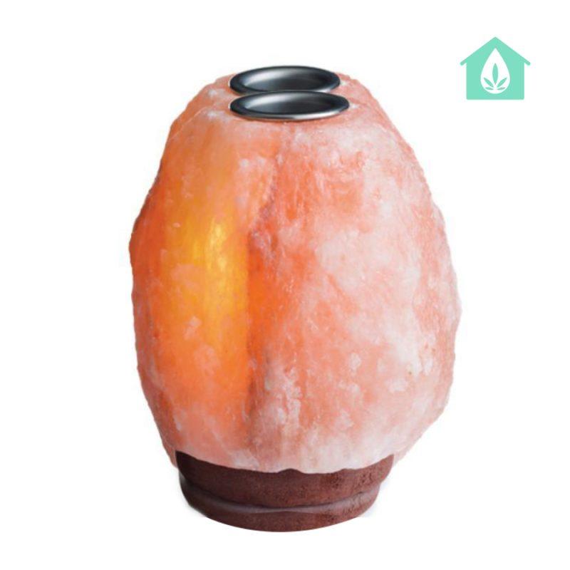 Đèn đá muối dùng tinh dầu - Đá muối Himalaya